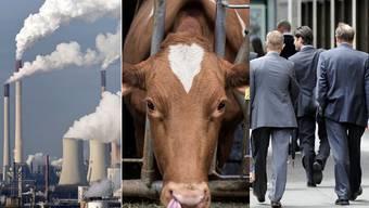Industrie, Landwirtschaft und Dienstleistung: Wie zeigt sich im Aargau der Branchenmix?