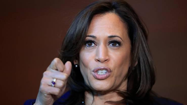Ex-Staatsanwältin und Ex-Biden-Kritikerin Kamala Harris.