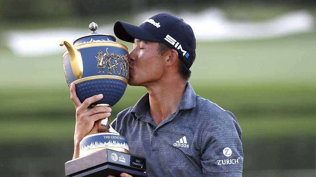Morikawa gewinnt - Tiger Woods bedankt sich
