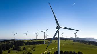 Die AKW-Gegner setzten sich mit der geplanten Windkraftanlage auf dem Grenchenberg auseinander. (Symbolbild)