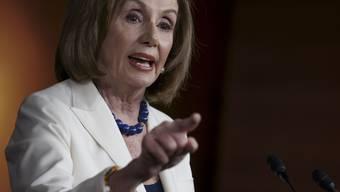 Nancy Pelosi antwortet prompt auf die Frage, ob sie Donald Trump «hasse».