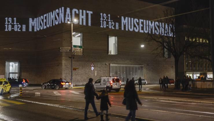 Impressionen der Basler Museumsnacht 2018.