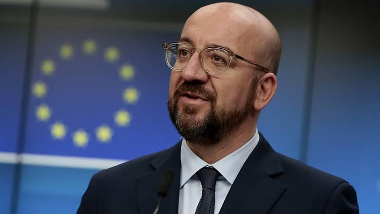 """EU-Ratspräsident Charles Michel hat den EU-Sondergipfel zum Finanzrahmen (2021-2027) ohne Einigung für beendet erklärt. """"Wir brauchen noch mehr Zeit"""", sagte er am Freitagabend in Brüssel"""