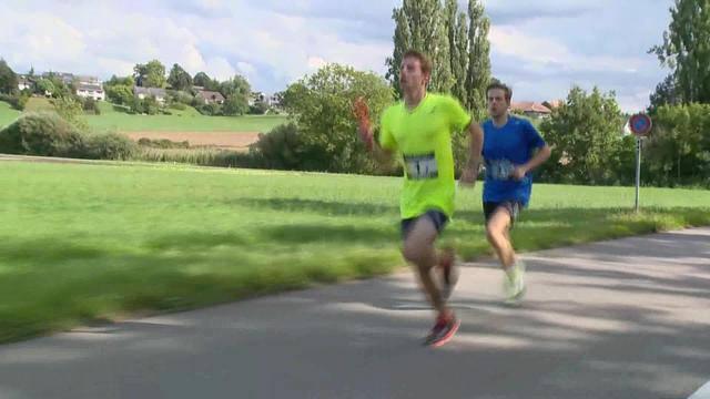 21 Läufer kämpfen um Weltrekord
