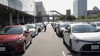 Japan mit erneut weniger Exporten: Vor allem die Nachfrage nach Autos, Autoteilen und Maschinen zur Chip-Produktion liess im August nach. (Symbolbild)