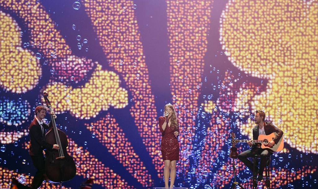 Anna Rossinelli mit «In Love For A While» im Halbfinale des Eurovision Song Contest