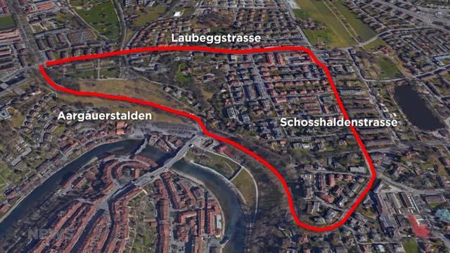 Formel-E-Rennstrecke führt um den Rosengarten
