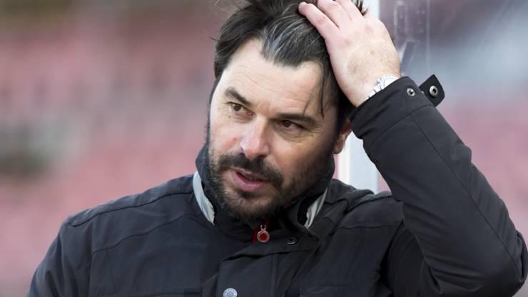 Ciriaco Sforza konnte sich an seiner Wiler Mannschaft nicht erfreuen