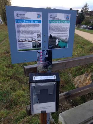 CrowdWater heisst das Projekt, dass Spaziergänger dazu auffordert den Wasserstand zu messen oder die Bodenfeuchte zu fühlen.