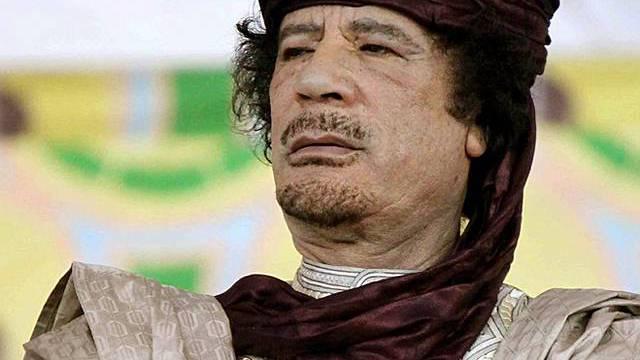 Der libysche Machthaber Muammar Gaddafi (Archiv)