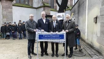 Eröffnung Fasnachtsgasse Basel