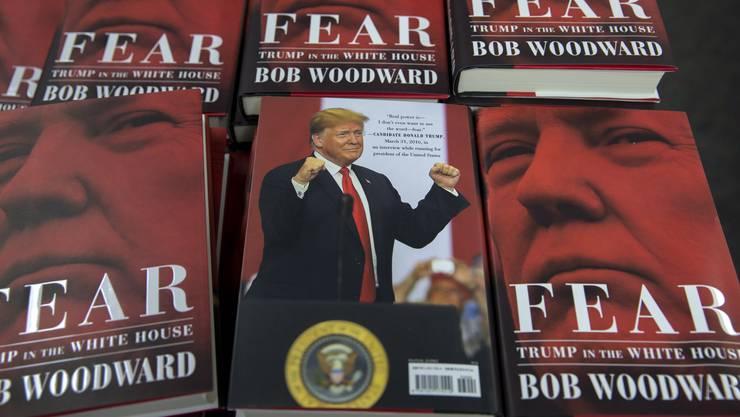 """Der Autor schildert in dem am Dienstag erschienenen Buch """"Fear: Trump in the White House"""" eine Regierung im Zustand des permanenten """"Nervenzusammenbruchs""""."""