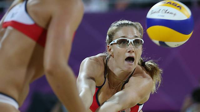 Misty May-Treanor gewinnt mit Kerri Walsh erneut Olympia-Gold