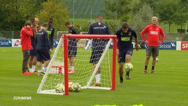 Nati trainiert für den Nations Cup