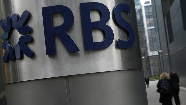Einigung am Dienstag: Die Royal Bank of Scotland (RBS) muss fast fünf Milliarden Dollar an Strafzahlungen in die USA zahlen. (Archivbild)