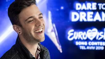 """Am Sonntag haben sich die 41 Teilnehmerdelegationen des Eurovision Song Contest in Tel Aviv vorgestellt. Luca Hänni will mit seiner Tanznummer """"She Got Me"""" überzeugen."""
