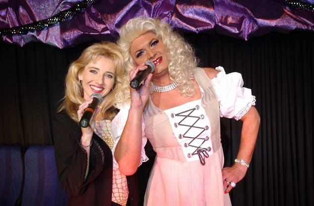 2002 mit Marianne Cathomen im Theater Muttiturm
