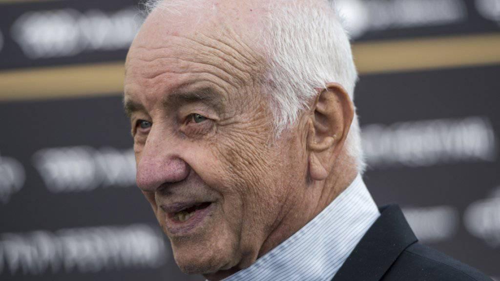 Armin Mueller-Stahl letzte Woche auf dem Zurich Film Festival, wo er einen Lifetime Achievement Award entgegennahm (Archiv).