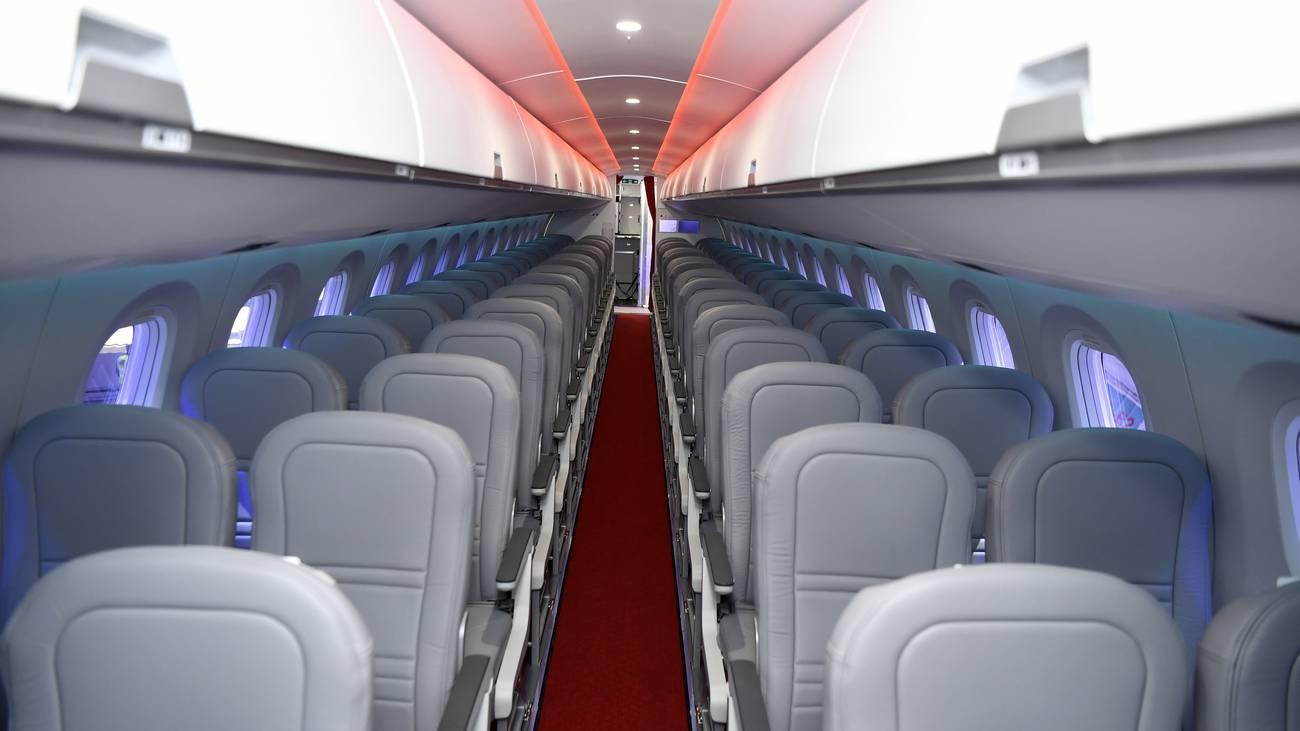 Hier sitzen bald die ersten Passagiere. (© Keystone)
