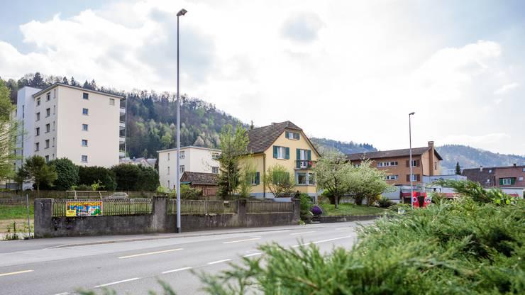 """Derzeit liegt der Gestaltungsplan """"Im Ifang"""" für die acht Liegenschaften an der Bruggerstrasse im Kappelerhof in Baden auf."""