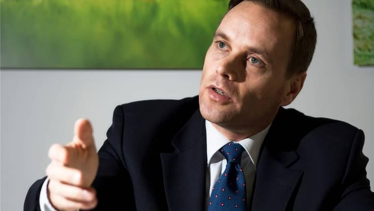 Jean-Pierre Gallati rechnet sich bei Regierungsrats-Wahlen mit dem Mehrheitswahlrecht mehr Chancen aus.