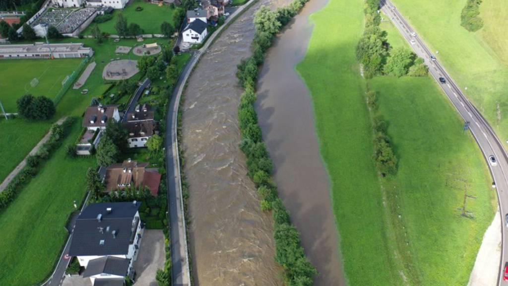 Hochwasser-Alarm in Südtirol und der Lombardei