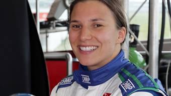 Kann wieder strahlen: Simona De Silvestro fährt wieder Indy Car.