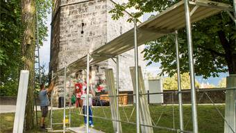 Nach sechs Filmnächten wirds um den Krummturm wieder ruhig.