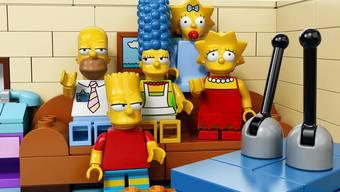 Jetzt kommen die Simpsons als Lego-Figuren