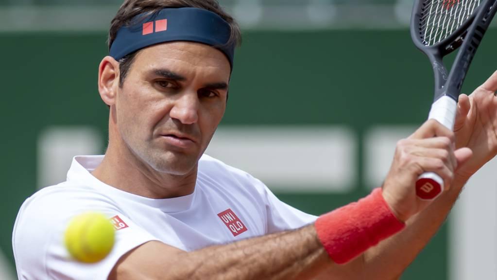 Roger Federer wird sich in Genf an das Sandplatzspiel herantasten.