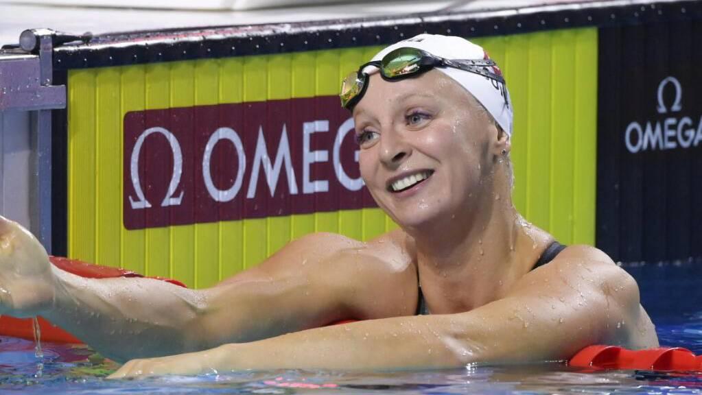 Strahlen aus gutem Grund: Maria Ugolkova schwimmt derzeit von Rekord zu Rekord