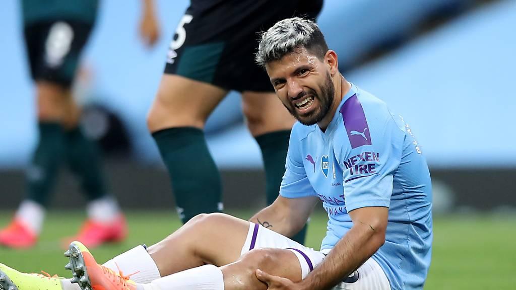 Manchester City längere Zeit ohne Sergio Agüero