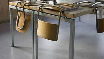 Für die Schule gibts kein neues Mobiliar. (Archiv)