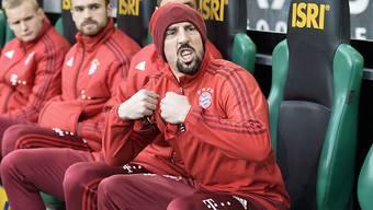 Ob auf dem Rasen, auf der Ersatzbank oder vor Gericht: Der Franzose Frank Ribéry von Bayern München zeigt sich kämpferisch