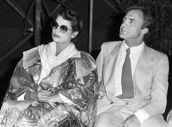 1979 sitzen Bianca Jagger, die Ex-Frau von Mick, und Bruno Ganz gemeinsam in der Jury des Filmfestivals Locarno.
