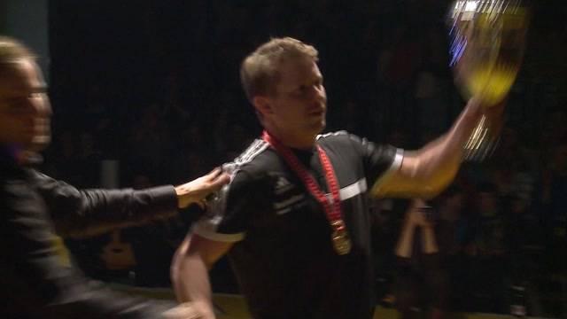 Freiämter Ringer werden Schweizermeister in der Ringerstaffel