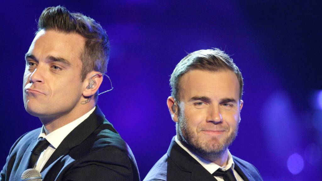Take-That-Kumpels Barlow und Williams feiern Mini-Reunion