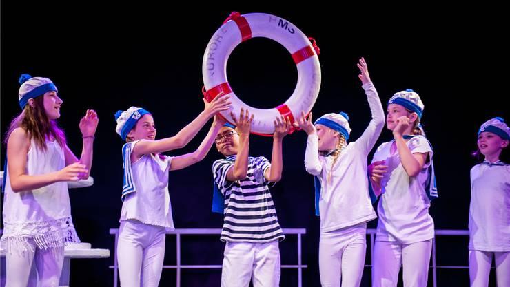 Das Theater «MS Fantasia» steht ganz im Zeichen der Seefahrt.