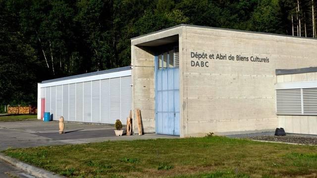 So sieht die ehemalige Versuchsanlage in Lucens heute aus (Archiv)