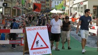 Baustellenfest Baden