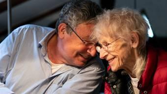 Seit 54 Jahren verheiratet: Charles und Ruth Lewinsky.
