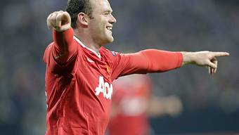 Wayne Rooney traf bereits nach 13 Minuten zur Führung für ManU