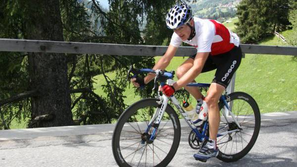 Der Russe Vladimir Isaitschew gewinnt 5.Tour-de-Suisse Etappe