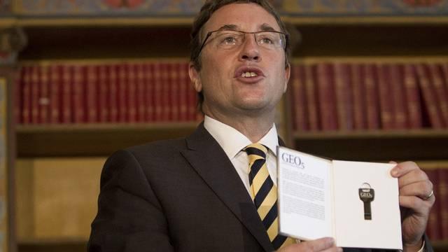 """UNEP-Direktor Achim Steiner stellt den """"GEO-5""""-Bericht vor"""