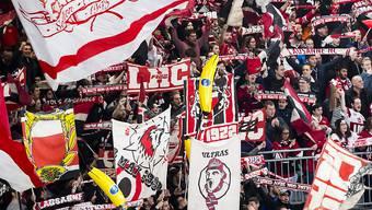 Der Lausanne Hockey Club steht erstmals in der Klubgeschichte in den Playoff-Halbfinals (gegen Zug)
