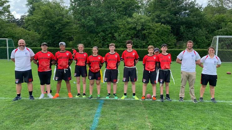 Das U16-Team der Pirates.