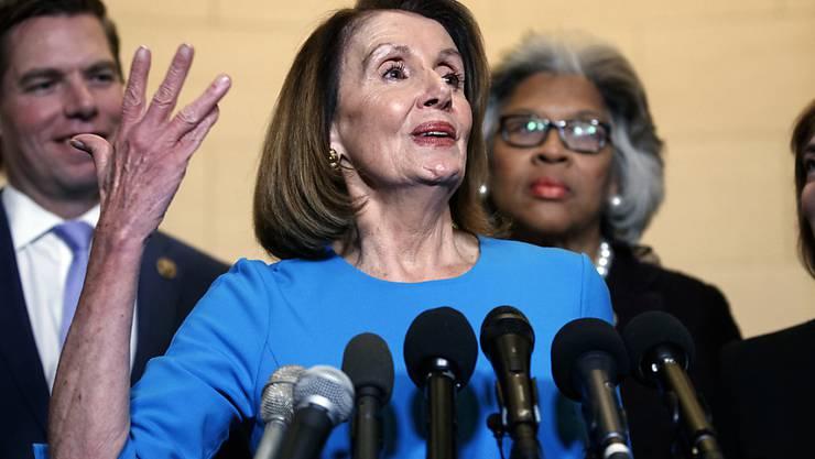 Die demokratische Fraktionschefin Nancy Pelosi soll künftig dem US-Repräsentantenhaus vorstehen. Sie tat das bereits einmal.