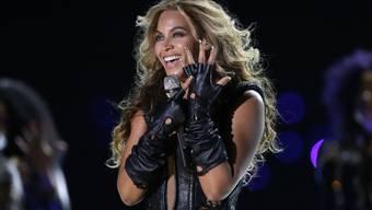 Beyoncé während einem Auftritt (Archiv)