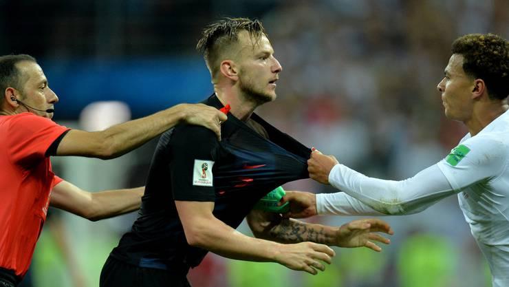 Ivan Rakitic erweist sich im Halbfinal gegen England einmal mehr als Führungspieler.
