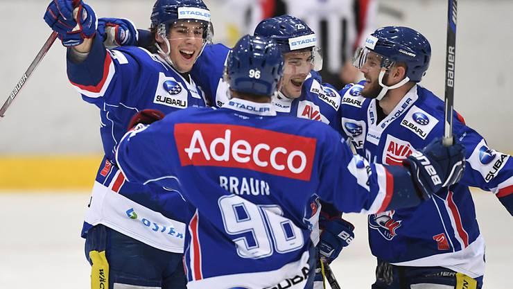 Die GCK Lions schlagen Winterthur in der Verlängerung und hoffen, die Playoffs in der Swiss League noch zu erreichen